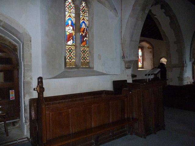 St Peter, Goodworth Clatford: choir stalls