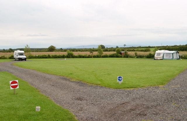 Caravan Park at Low Moor Head Farm