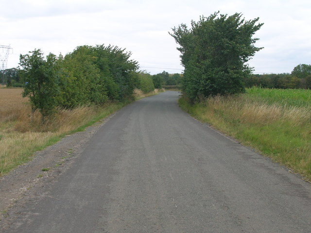 Limekiln Lane towards Stainton