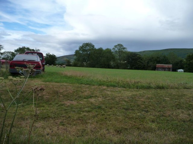 Multi-purpose field on the edge of Wentnor