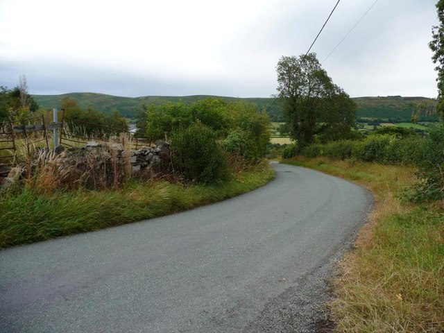 The road to Upper Criftin