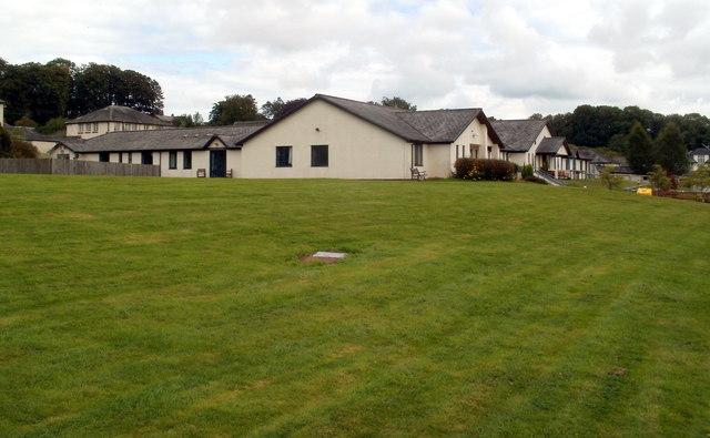 Bronllys Hospital buildings