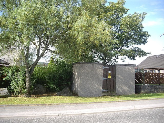 Electricity sub-station, Torphins