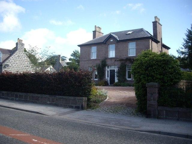 A villa on Craigour Road, Torphins