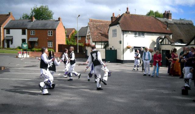 Dancing at The Lamb