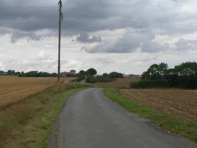 Wilsic Lane towards Wadworth