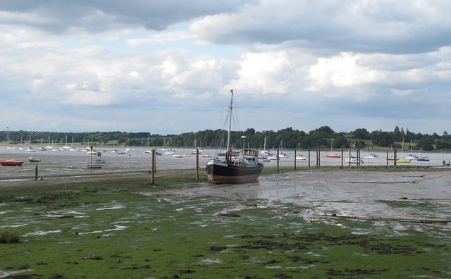 Pin Mill Harbour