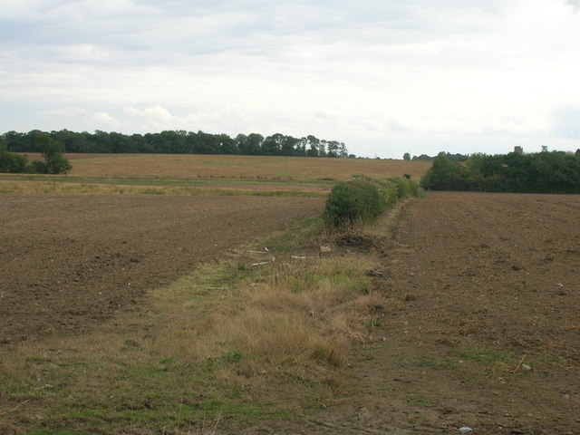Bridleway towards Lodge Farm