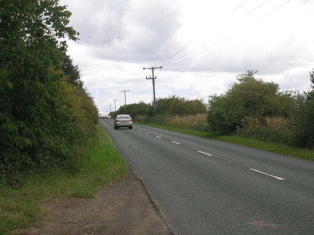 B6064 towards Conisbrough