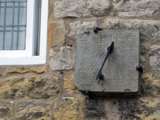 Church Street cottage, sundial