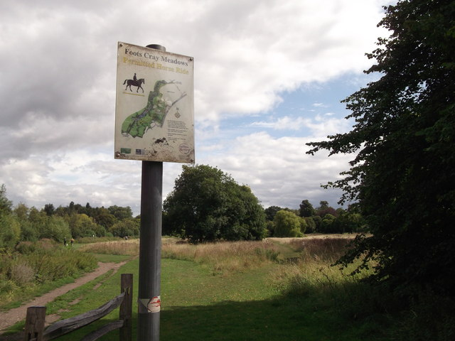 Permitted Horse-rides In Foots Cray Meadows