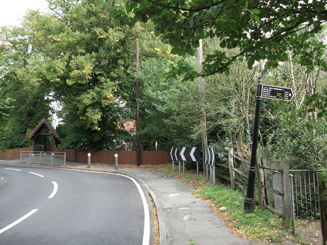 London Loop enters Foots Cray Meadows