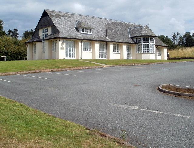 Office building, Bronllys Hospital