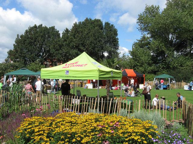 Brunswick Festival, St Ann's Well Garden