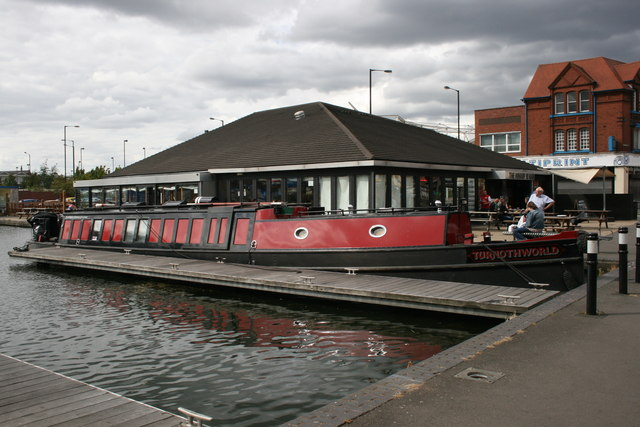 Barge and Wharf Bar