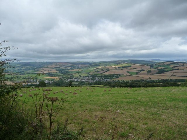 View towards Clun