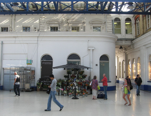 Florists, Brighton Station