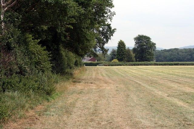 Footpath near Farndon