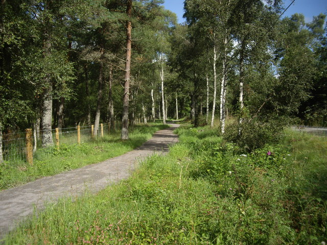 New cycle path towards Potarch