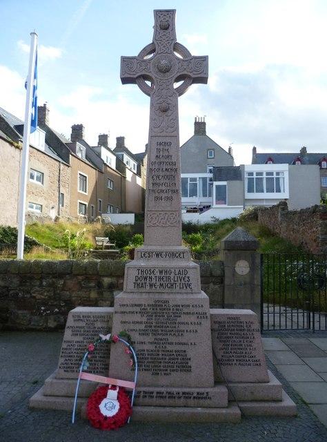 Eyemouth War Memorial, Church Street
