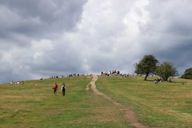 Summit of Primrose Hill NW1