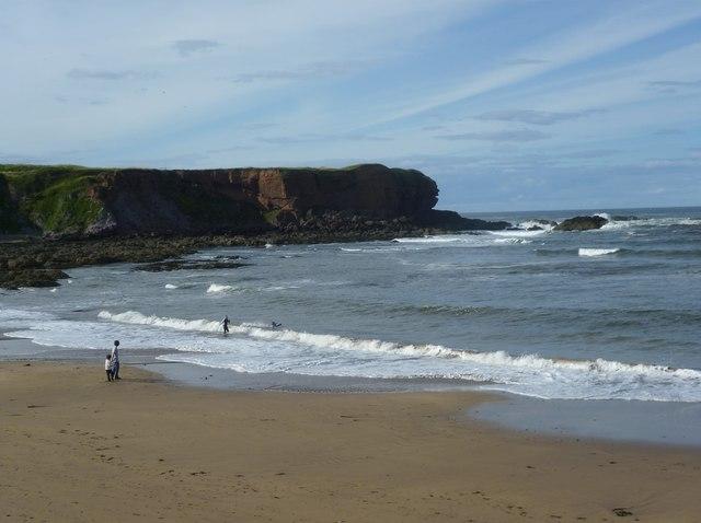Beach at Eyemouth