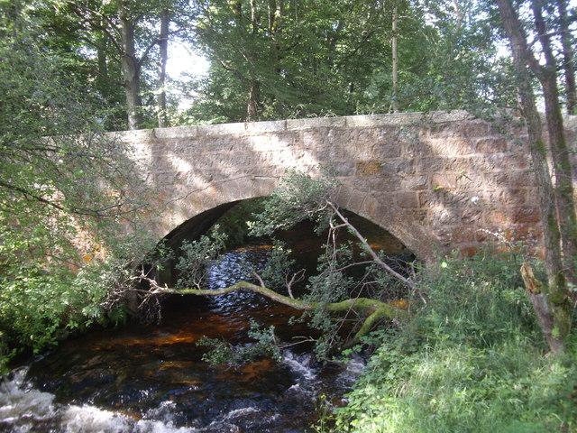 Stone road bridge, Burn of Cattie