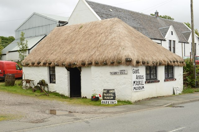 Giant Angus MacAskill Museum, Dunvegan