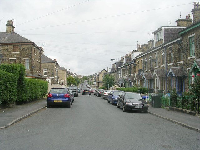 Granville Road - viewed from Lynthorne Road