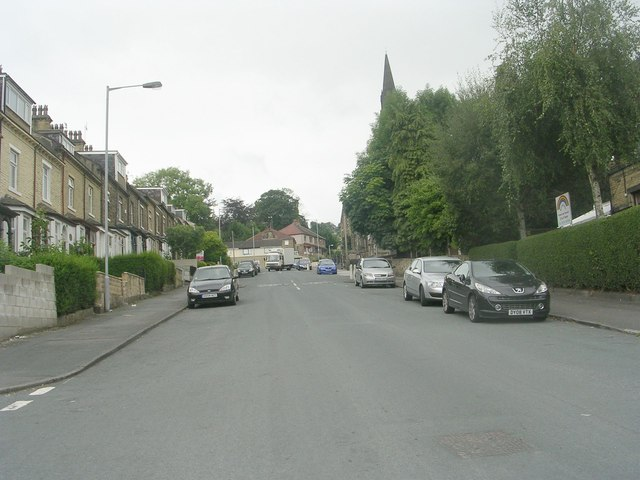 Aireville Road - viewed from Granville Road