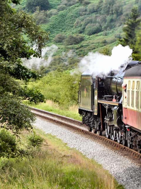 North Yorkshire Moors Railway, Leaving Pifelhead Wood
