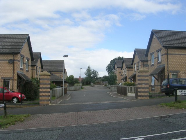Orchid Close - Gaisby Lane