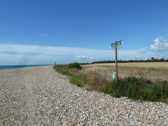 Along the coast from Atherington to Elmer (4)