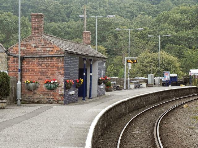 Northern Rail Platform at Grosmont