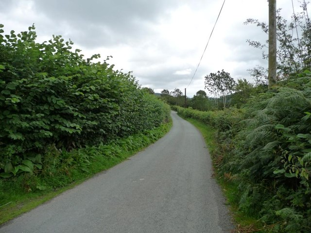 The lane to Chapel Lawn