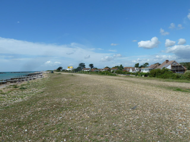 Along the coast from Atherington to Elmer (25)