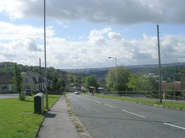 Gaisby Lane - viewed from Mountain View