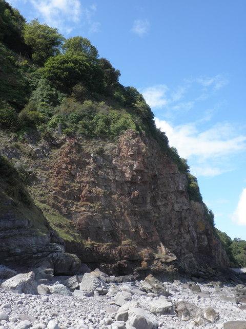 Culver Cliff face