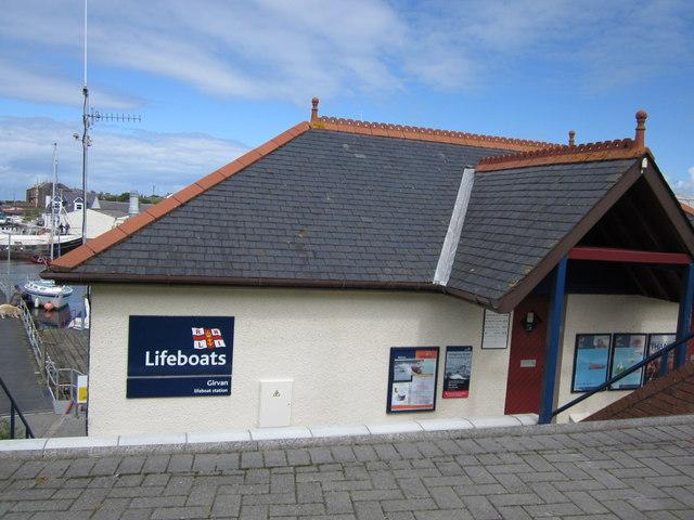 Girvan Lifeboat Station