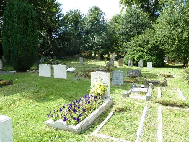 Abbotts Ann - St Mary: churchyard (3)