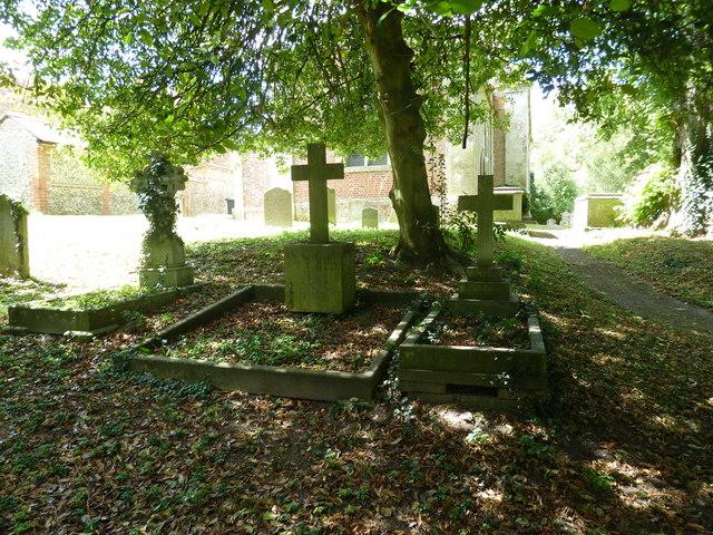 Abbotts Ann - St Mary: churchyard (4)