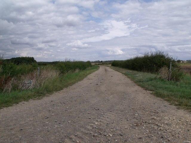 Farm Track near Rowston