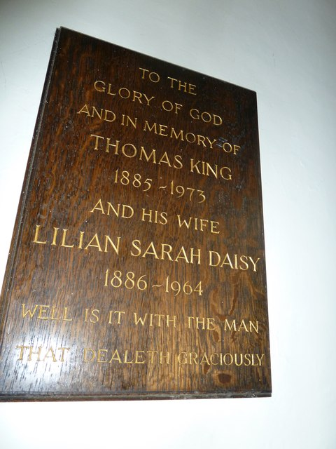 Abbotts Ann - St Mary: memorial (2)
