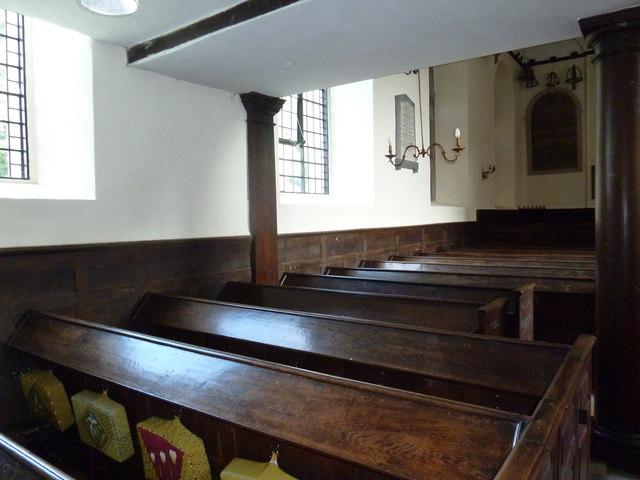 Abbotts Ann - St Mary: pews