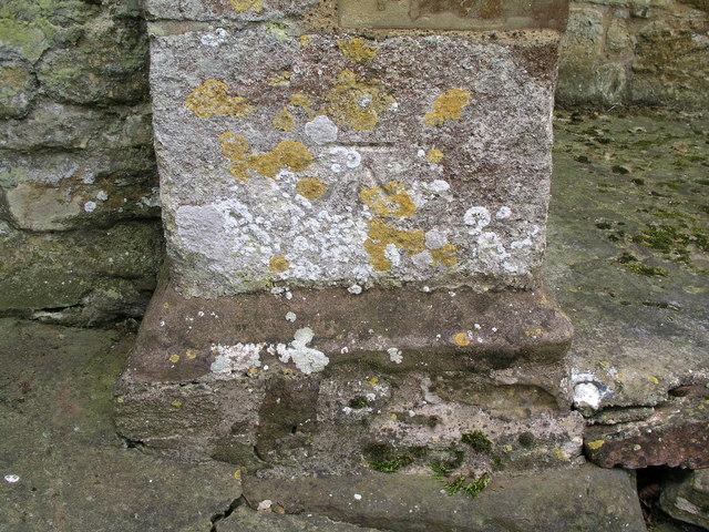 Cut Mark: Cold Ashby, St Denys's Church