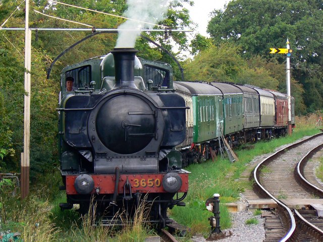 Tank engine, Swindon and Cricklade Railway, Blunsdon (1 of 2)