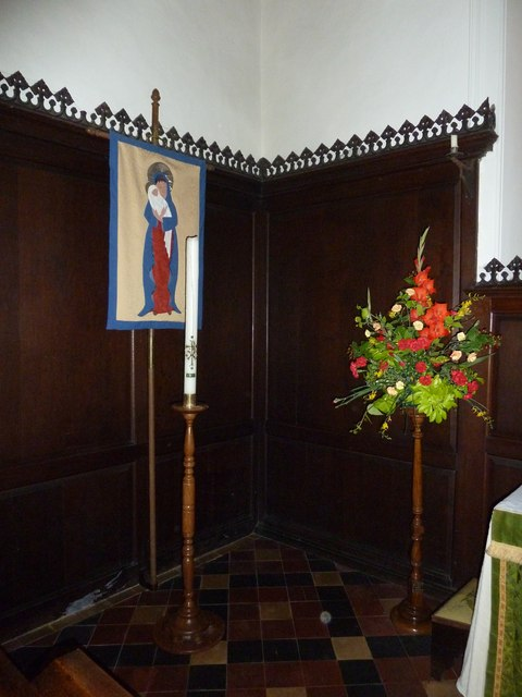 Abbotts Ann - St Mary: floral display