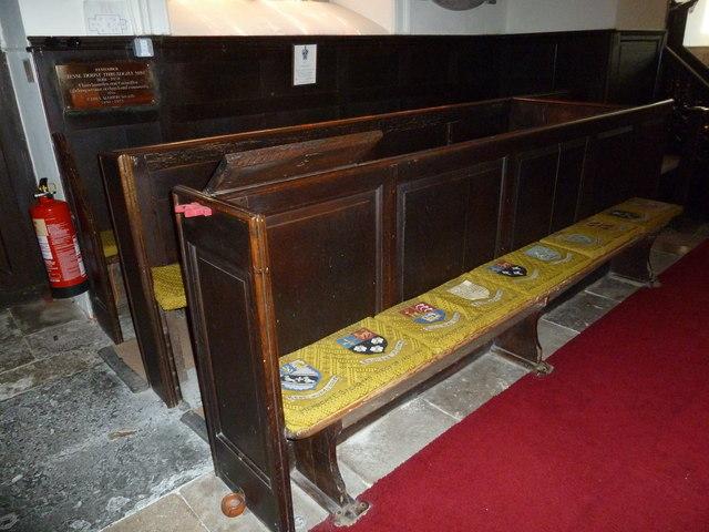 Abbotts Ann - St Mary: choir stalls