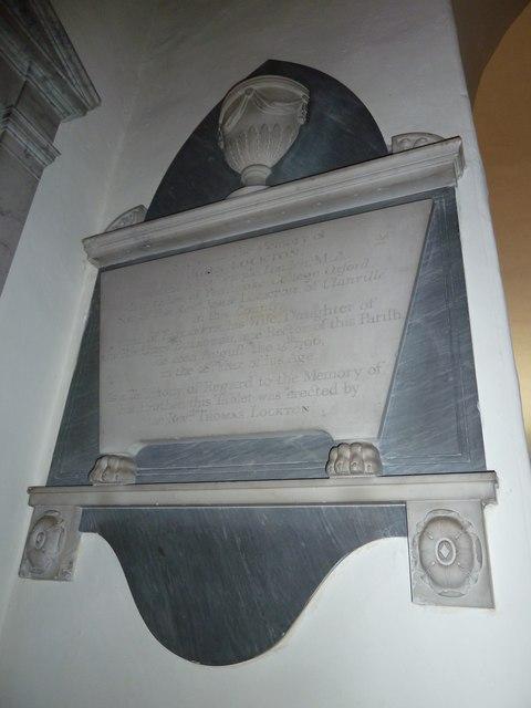 Abbotts Ann - St Mary: memorial (5)