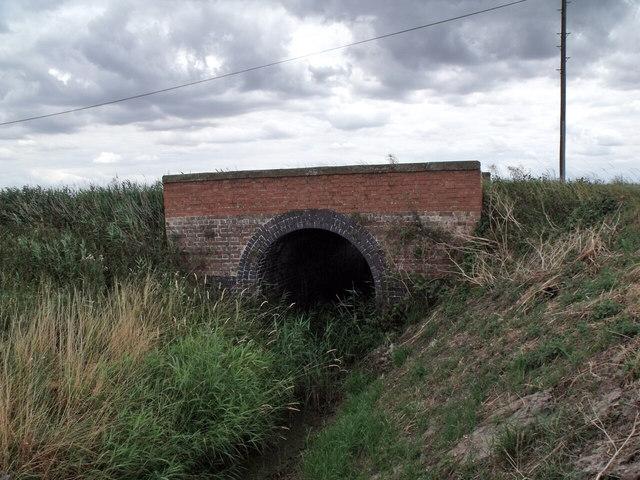 A153 Bridge over  a  drain